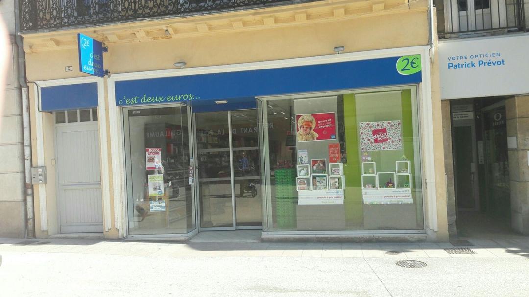 Photo of the April 4, 2017 8:50 AM, C'est 2 Euros, 3 Rue de la Liberté, 21000 Dijon, France