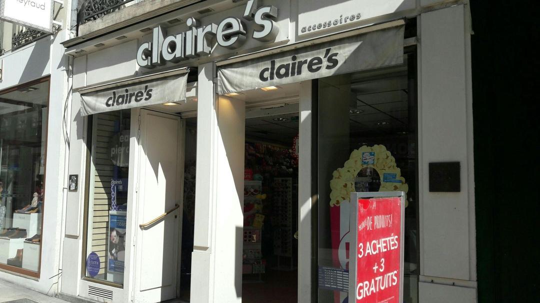 Photo du 4 avril 2017 09:43, Claire's, 15 Rue de la Liberté, 21000 Dijon, France