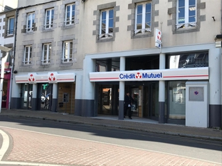 Photo of the April 28, 2017 3:27 PM, Crédit Mutuel, 76 Rue Couraye, 50400 Granville, France