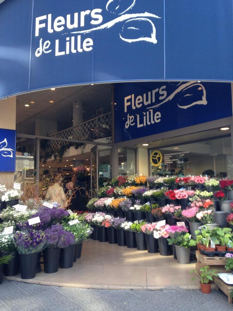 Photo of the April 8, 2017 1:54 PM, Fleurs de Lille, 17 Rue Nationale, 59000 Lille, France