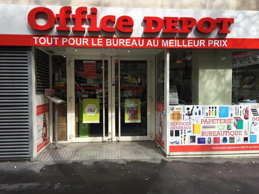 Foto del 28 de abril de 2017 14:15, Office Depot, 24 Avenue Raymond Poincaré, 75016 Paris, Francia