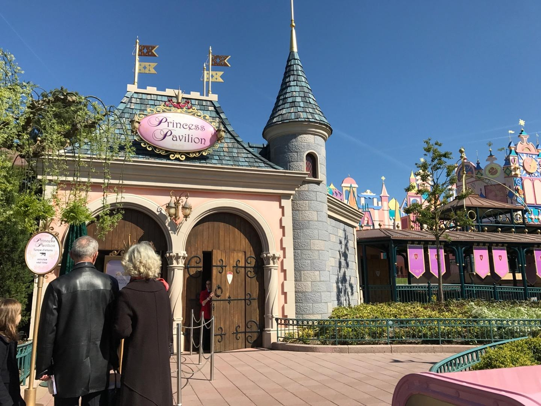 Photo du 12 avril 2017 09:53, Pavillon des Princesses, Disneyland Paris, Fantasyland, 77700 Chessy, France