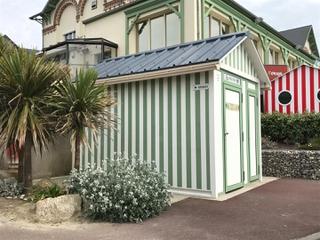 Photo du 5 mai 2017 14:54, Toilettes publiques, 122 Rue de la Plage, 50380 Saint-Pair-sur-Mer, France